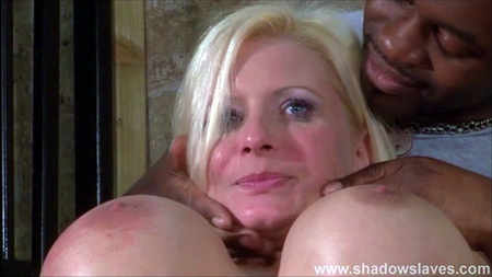 German BDSM of Slave Melanie Moon - Pussy Torture