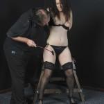 Crack The Whip - Flogging Female Slave Beauvoir
