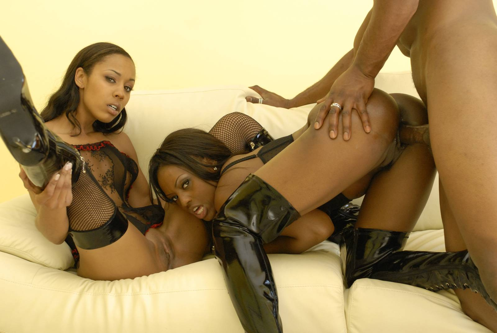 slave fetish black Ebony